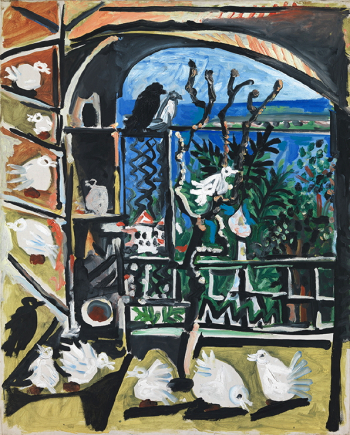 Image 1101-1. Picasso, Els colomins, 06/09/1957. Barcelone, Musée Picasso, MPB_070.451.