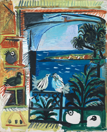 Image 1101-2. Picasso, Els colomins, 12/09/1957. Barcelone, Musée Picasso, MPB_070.457